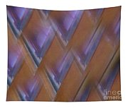 Purple Geometry - Abstract Tapestry