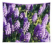 Purple Grape Hyacinth  Tapestry