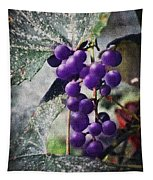 Purple Grapes - Oil Effect Tapestry