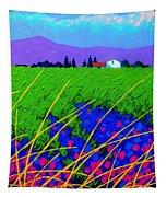 Purple Hills Tapestry