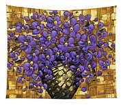 Purple In The Warm Glow Tapestry