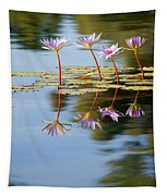 Purple Lillies Tapestry