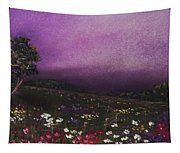 Purple Meadow Tapestry