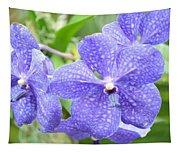 Purple Mokara Orchid Tapestry
