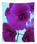 Purple Orchids 3 Tapestry
