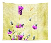 Purple Passion Texture Tapestry
