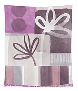 Purple Patchwork- Contemporary Art Tapestry