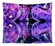 Purple Rutabagas Reflect  Tapestry