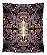 Purple Shield Tapestry
