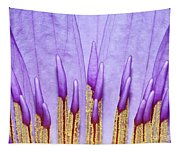Purple Spires Tapestry