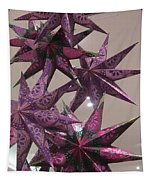 Purple Star Tapestry