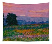 Purple Sunset On The Blue Ridge Tapestry