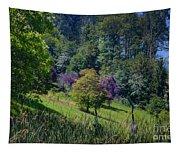 Purple Trees Tapestry