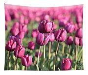 Purple Tulip Standouts Tapestry
