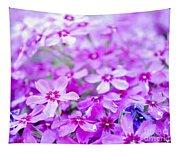 Purple Wildflower Tapestry