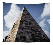 Pyramid Of Rome II Tapestry