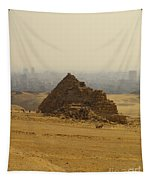 Pyramids Of Giza 12 Tapestry