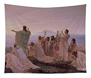 Pythagoreans' Hymn To The Rising Sun Tapestry