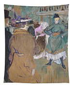 Quadrille At The Moulin Rouge, 1892 Tapestry