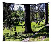 Quechee Vermont Cemetary Tapestry