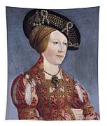 Queen Anne Of Hungary And Bohemia Tapestry