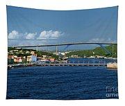 Queen Juliana Bridge  Queen Emma Bridge Curacao Tapestry