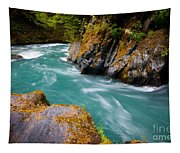 Quinault River Bend Tapestry