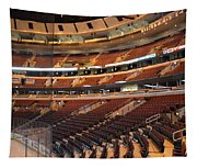 Quite Time Chicago United Center Before The Gates Open 02 Tapestry