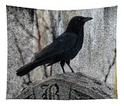 R Is For Raven Tapestry