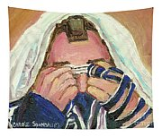 Rabbi's Prayer For The Sabbath Tapestry