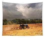 Race Against The Storm Tapestry
