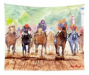Race Day Tapestry