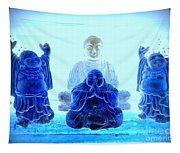 Radiant Buddhas Tapestry