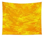 Radiating Sunshine Colors - Abstract Art Tapestry