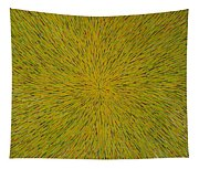 Radiation With Yellow Green And Red Tapestry