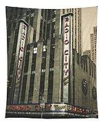 Radio City Hall Tapestry by Andrew Paranavitana