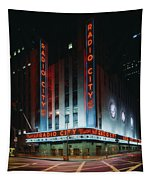 Radio City Music Hall In New York City Tapestry