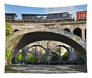 Railroad Bridges Tapestry