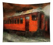 Railroad Gary Flyer Photo Art 03 Tapestry