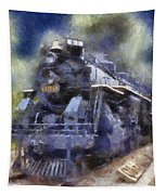 Railroad Locomotive 639 Type 2 8 2 Photo Art Tapestry