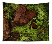 Rain Forest Abstract Tapestry