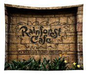 Rain Forest Cafe Signage Downtown Disneyland 01 Tapestry