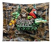 Rain Forest Cafe Signage Walt Disney World Tapestry