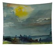 Rain In The Air, 1981 Wc On Paper Tapestry