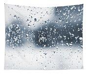 Rain In Winter Tapestry
