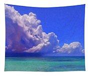 Rain Squall On The Horizon Tapestry