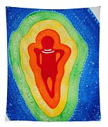 Rainbow Body Original Painting Tapestry