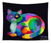 Rainbow Calico Tapestry