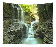 Rainbow Falls Bridge Tapestry