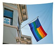 Rainbow Flag Marriage Equality Tapestry
